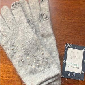 Anthropologie sleeping on snow gloves -new!